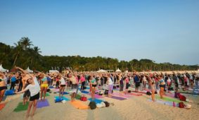 Yoga by Sunset at SOULSCAPE