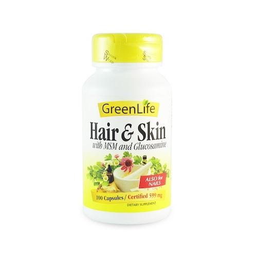 GreenLife Hair & Skin Supplements