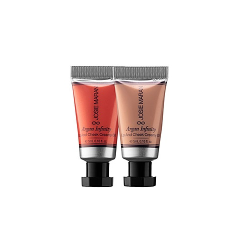 Josie Maran Argan Infinity Lip and Cheek Creamy Oil Duo