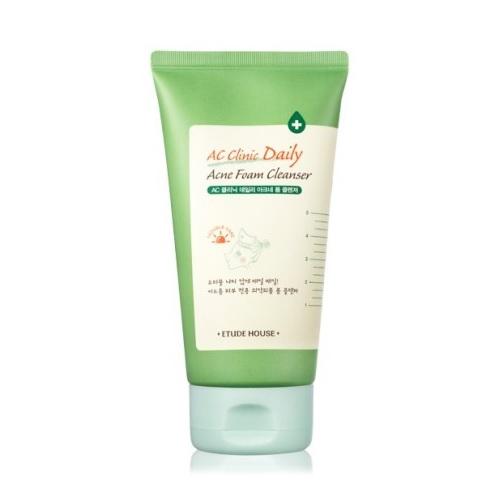 ac clinic daily acne foam cleanser