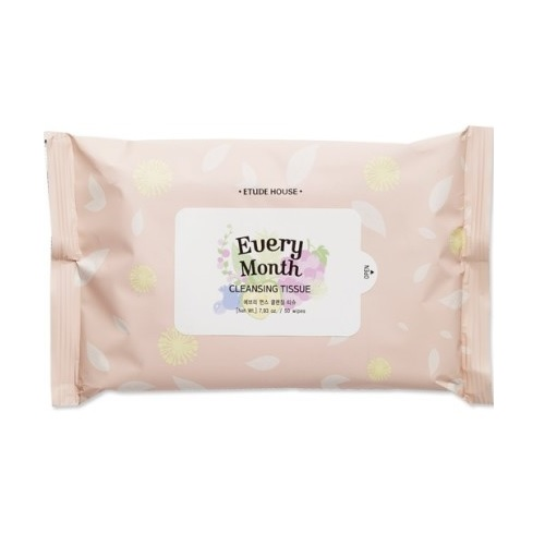 every month cleansing tissue wipes