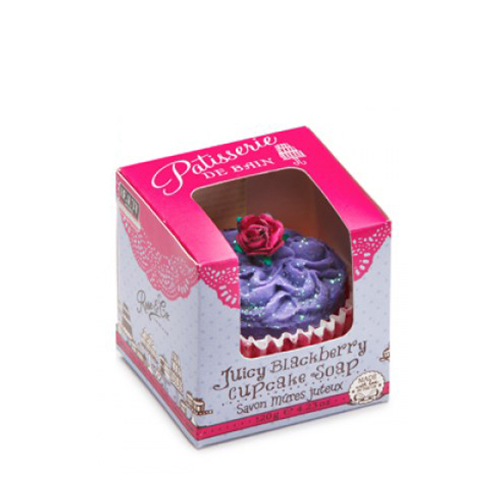 Patisserie De Bain Juicy Blackberry Cupcake Soap