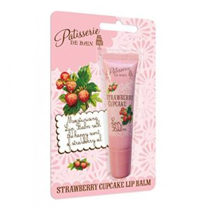 Strawberry Cupcake Lip Balm Tube
