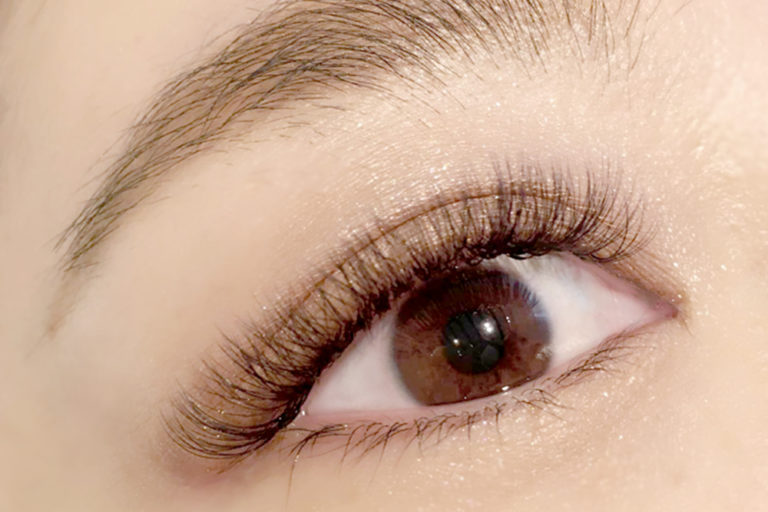 Get natural-looking eyelash extensions at Eye Design