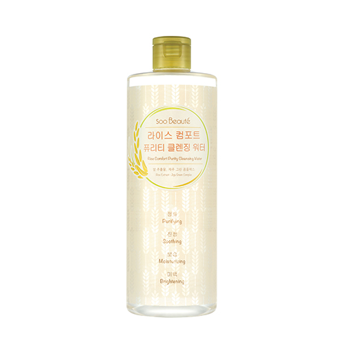 Soo Beaute – Rice Comfort Purity Cleansing Water