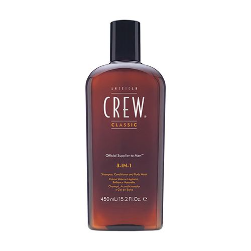 America Crew 3-in-1 Hair and Body Wash