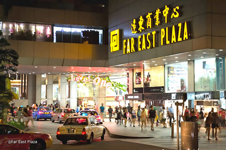 Salons in Far East Plaza