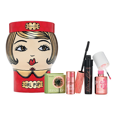 Benefit Cosmetics Girl Pop! Lips, Cheeks & Lashes Kit