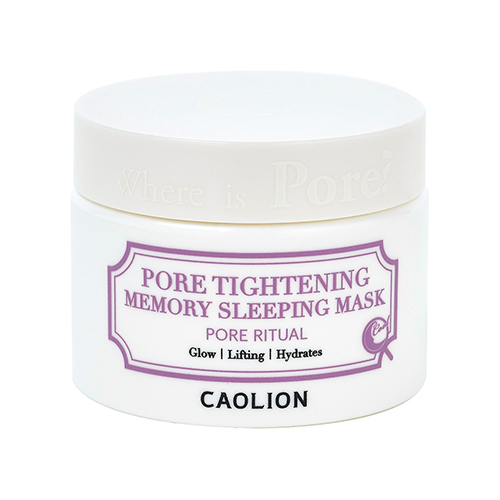 Caolion Pore Tightening Memory Sleeping Mask