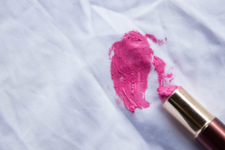 How to Clean Makeup Stains on Your Clothes