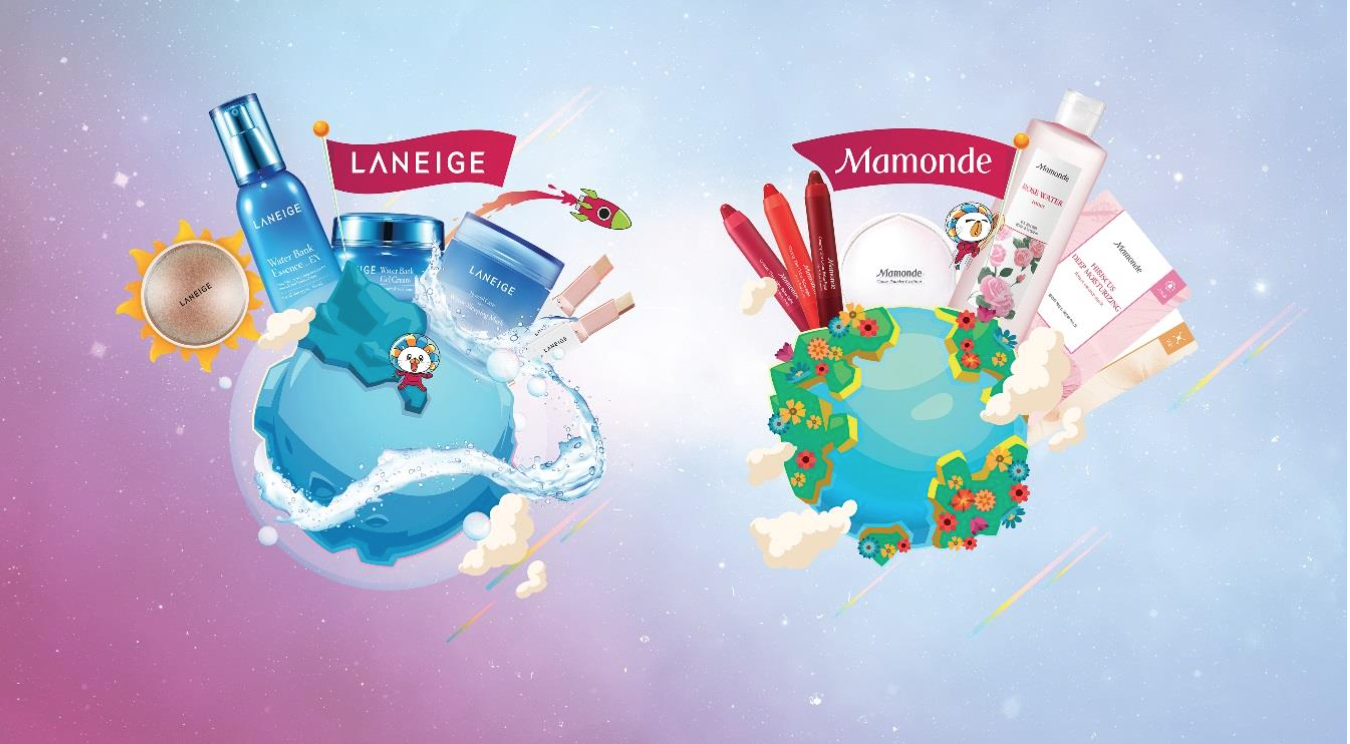 LANEIGE AND MAMONDE