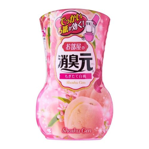Shoshugen air freshener white peach