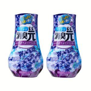 Shoshugen toilet freshener lavender bundle of 2