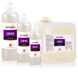 Cryo cooling gel