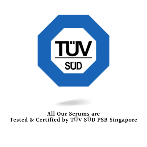 Tested & Certified by TÜV SÜD PSB Singapore