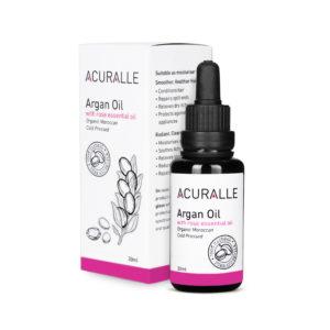 Acuralle Argan Oil with Rose Essential Oil