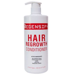 REGENSIFY Hair Regrowth Conditioner 500 ml [Adenosine and Coenzyme Q10 Conditioner with Biotin & DHT Blockers]
