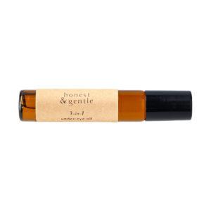 honest & gentle 3-in-1 undereye oil eye face oil for sensitive skin 10ml