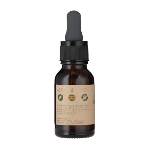 honest & gentle day face oil for sensitive skin 15ml - 3