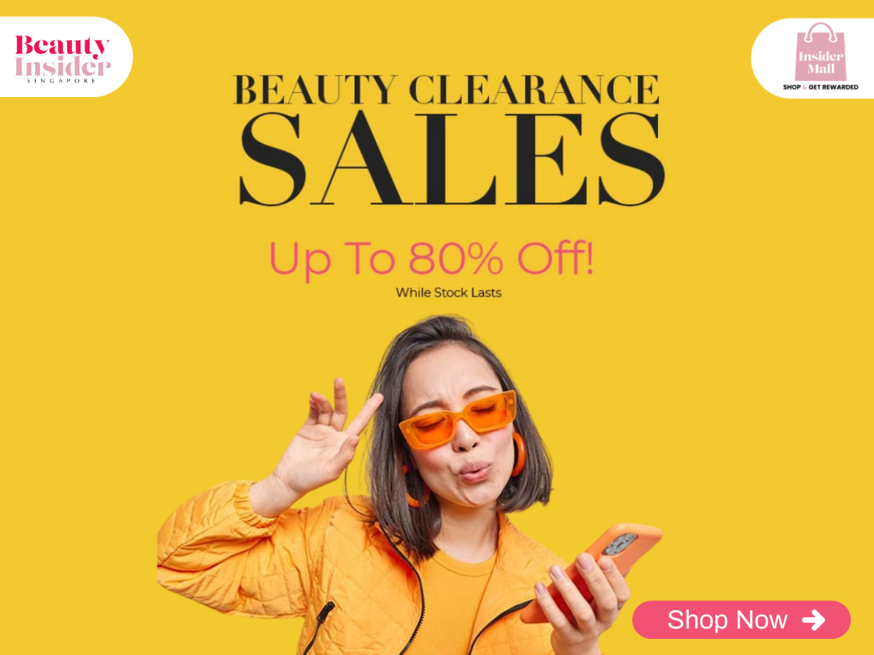 Beauty Clearance Sales Up To 80% Off