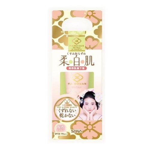 SANA-Maikohan-Makeup-Base-Pink-Beige-SPF30-PA