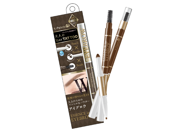 l K-Palette W series Essence in Eyebrow 3-in-1 Eyebrow Pencil
