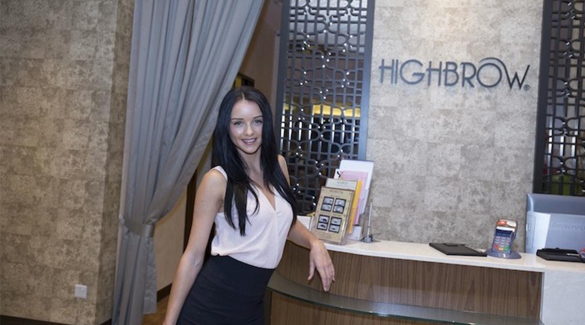 Model Lorna Murphy reviews HighBrow