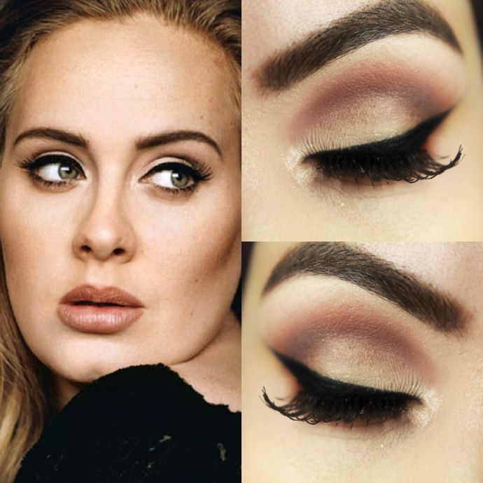 Adele's makeup artist shows you THE way to do her signature eyeliner flick