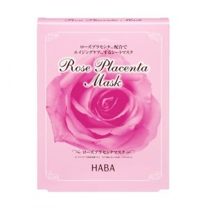 HABA Rose Placenta Mask