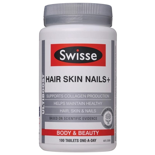 Swisse Ultiboost Hair Skin Nails+ Supplement