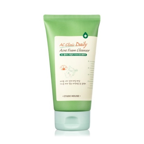 ac clinic daily acne foam cleanser