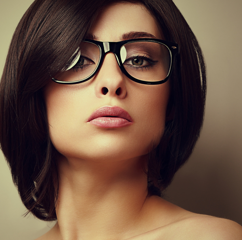 makeup tips women glasses