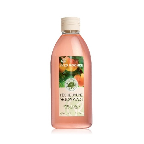 YVES ROCHER Yellow Peach Shower Gel