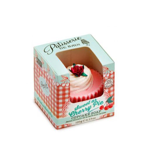 Patisserie De Bain Cherry Pie Cupcake Soap