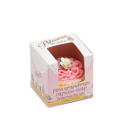 Patisserie De Bain Pink Grapefruit Cupcake Soap