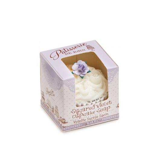 Patisserie De Bain Violet Cupcake Soap