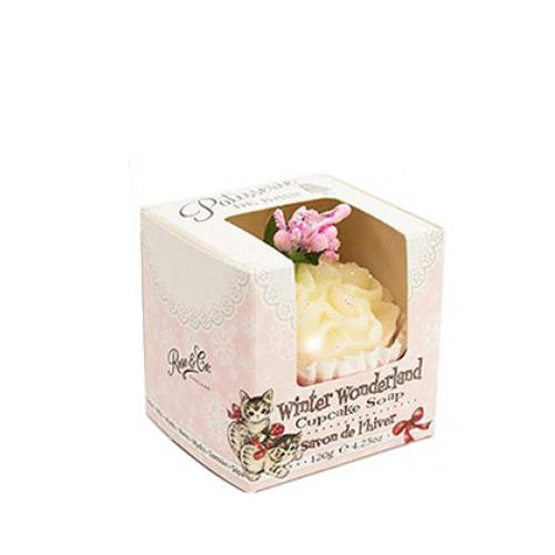 Patisserie De Bain Winter Wonderland Cupcake Soap