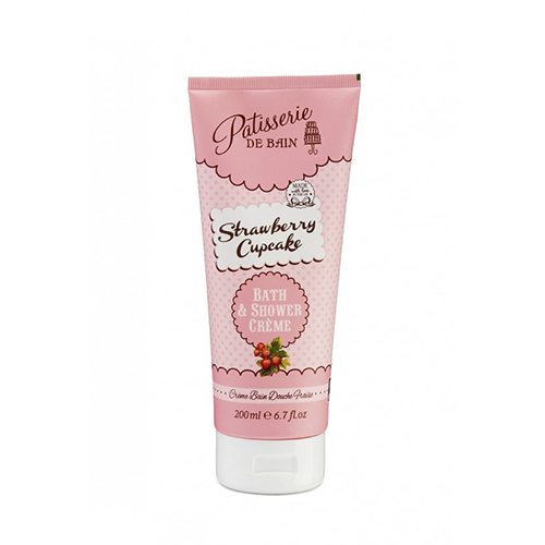Strawberry Cupcake Bath and Shower Creme