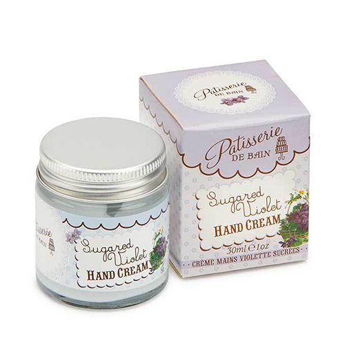 Sugared Violet Hand Cream Jar