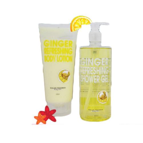 Color Combos – Ginger Refreshing Shower Gel Set
