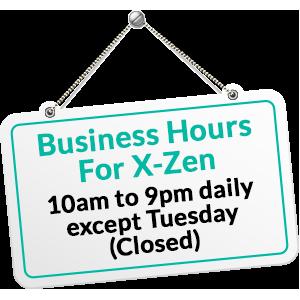 xzen-hair-salon-biz-hours