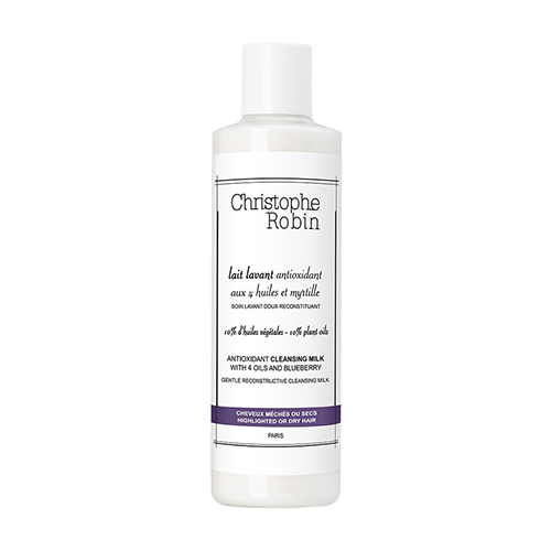 Christophe Robin Antioxidant Cleansing Milk with 4 Oils and Blueberry