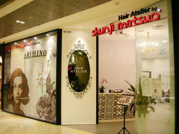 hair salon in orchard - shunji matsuo