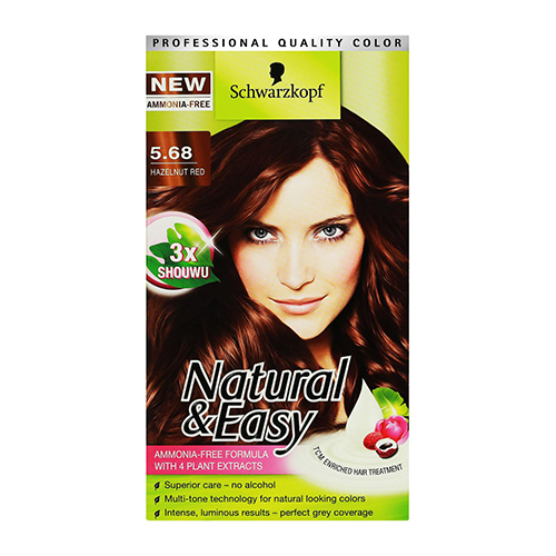 Schwarzkopf Natural & Easy in Hazelnut Red