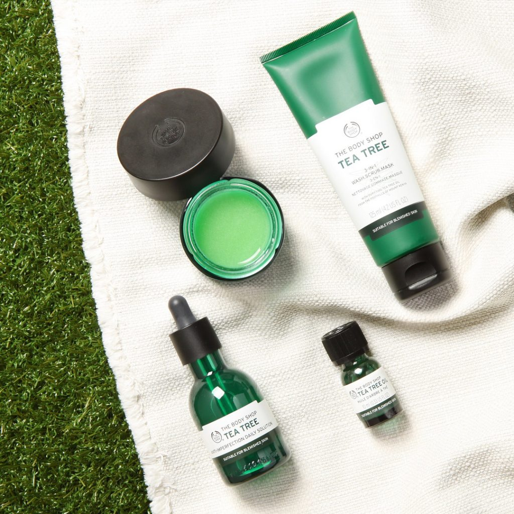 This Body Shop Tea Tree Oil Is The Perfect Superfood For Your Skin 10ml It Doesnt Matter What Combination Acne Play Favourites When Comes To Those Pesky Random Breakouts