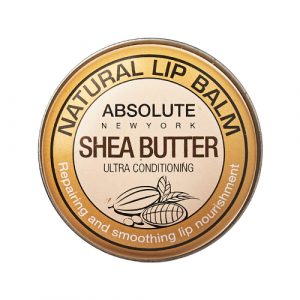 Absolute New York Natural Lip Balm in Shea Butter