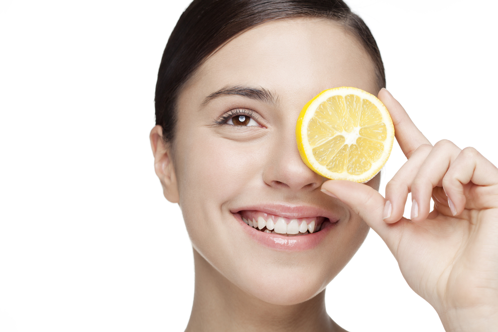 natural skincare tips lemon