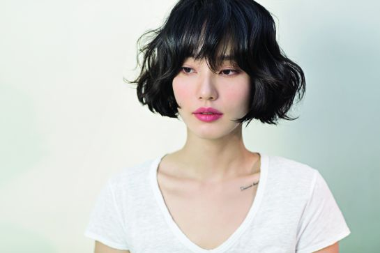 Korean short haircut for women