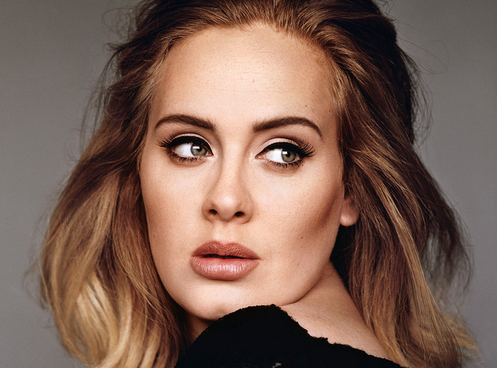 Just blend really, really well – you don't want to look like Kim Kardashian or a clown. And for contouring, no one does it better than Adele.