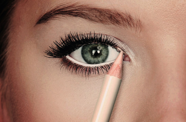 beauty tips nude eyeliner